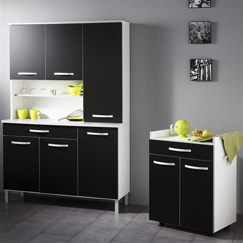 buffet de cuisine blanc buffet de cuisine noir et blanc