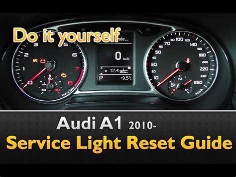 reset l200 service light audi a1 service light maintenance oil life reset youtube