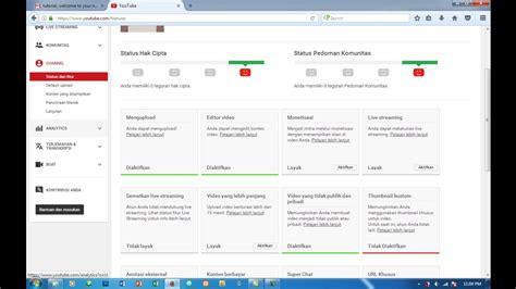 adsense for youtube tutorial tutorial daftar adsense youtube youtube