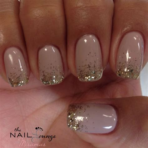 gelish nail designs for new year new year s sparkle glitter gel nails nail