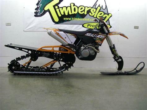 Ktm Sled Photo Gallery Timbersled Snow Bikes