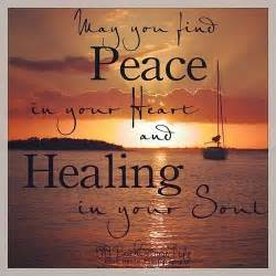 may you find peace and comfort peace in your quotes quotesgram