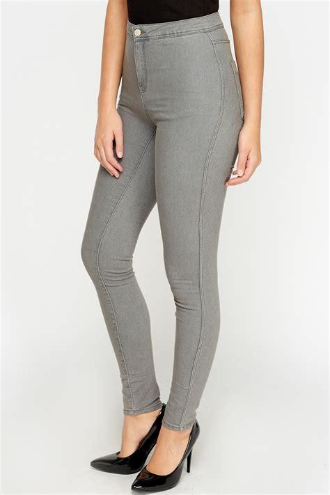 High Grey high waist grey just 163 5