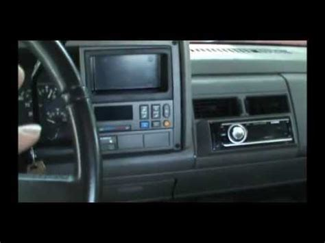 chevy silverado radio noise solved youtube