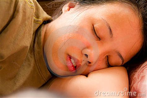 sleeping in asia asian woman sleeping on bed stock image image 23450731