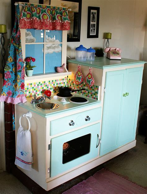 Kids Kitchen Furniture by Easy Peasy Pie Play Kitchen