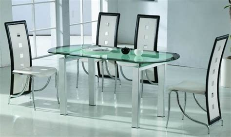 Dining Room Table Glass by Contemporary Dining Tables Dining Room Design Ideas