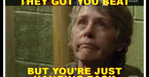 Walking Dead Carol Meme - deadshed productions cool as carol edition the walking