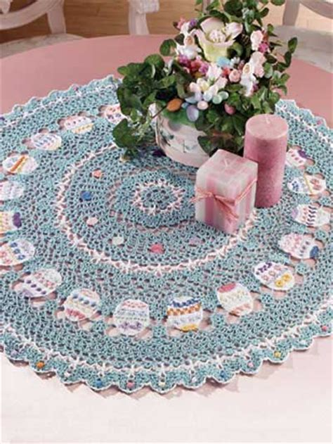 free easter table topper crochet pattern download this