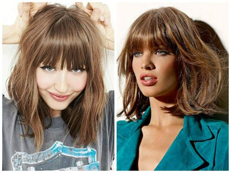 Wedding Hairstyles With Across Bangs by Hairstyles With Across Bangs The Best Lob Haircut