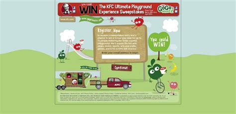 Kfc Sweepstakes - kfc ultimate playground experience sweepstakes