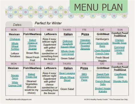 cing menu planner template family cing menu ideas 28 images top 28 family cing