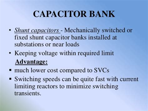 capacitor bank switching transients in power systems capacitor bank switching transients 28 images ac grid overview series shunt compensation