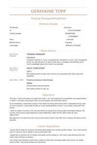 Workshop Manager Sle Resume by Manager Resume Sles Visualcv Resume Sles Database