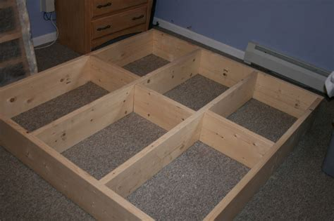 how to build a size platform bed frame build your own platform bed diy