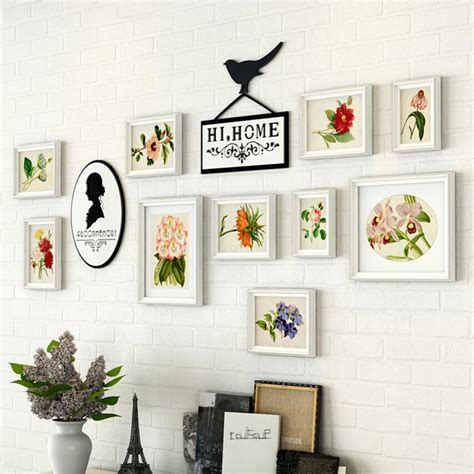 wall collage frame set white wooden photo frame 10 pcs set wall frames collage
