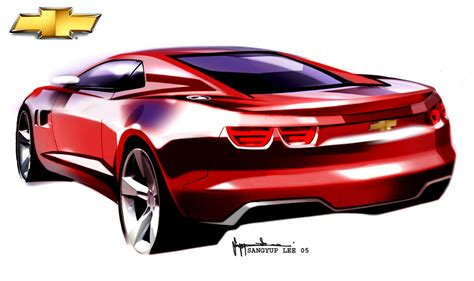 chevrolet camaro concept design images car design