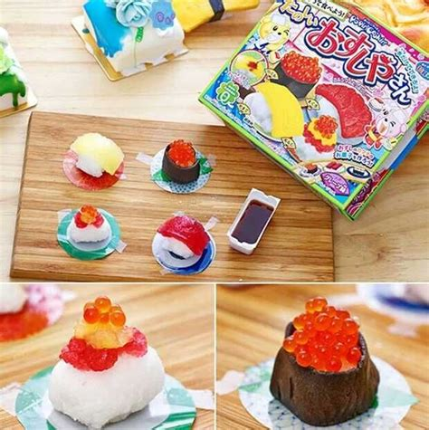 Handmade Confectionery - free shipping japanese snacks mini sushi diy handmade