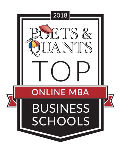 Mba Graduate Schol Uta by Poets Quants Top Ranked Mba Programs Of 2018