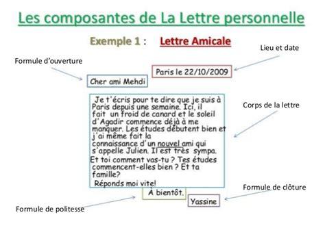 Exemple De Lettre Amicale Gratuite La Lettre Amicale Carta Informal
