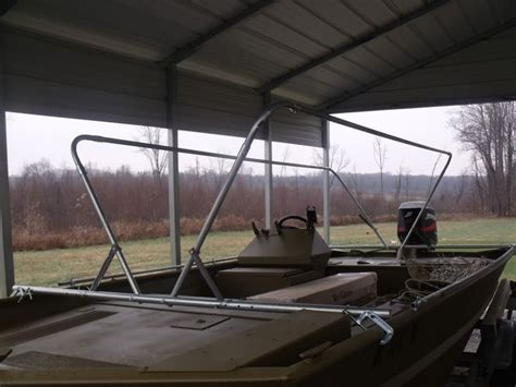 jon boat duck blind pvc 25 best ideas about duck boat blind on pinterest boat
