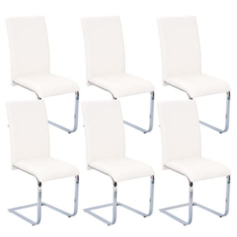 6 Chaises Blanches by Lot 6 Chaises Blanches