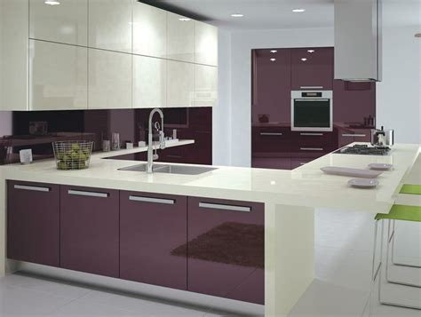 High Gloss Kitchen Cabinet Doors Best 25 High Gloss Kitchen Cabinets Ideas On