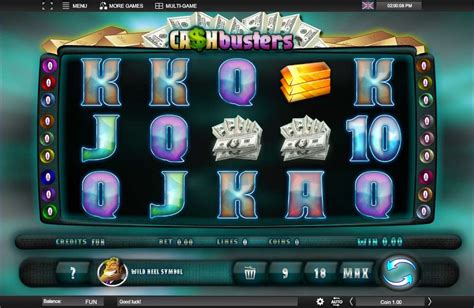espresso games play cash busters video slot from espresso games for free