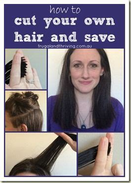 how to cut trim shape your own hair medium length men pin by melisa goodwin frugal and thriving on frugality