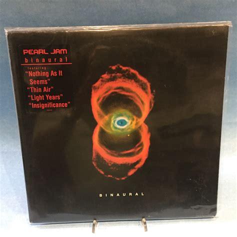 Kaset Pearl Jam Binaural 1 pearl jam binaural 2lp il 23