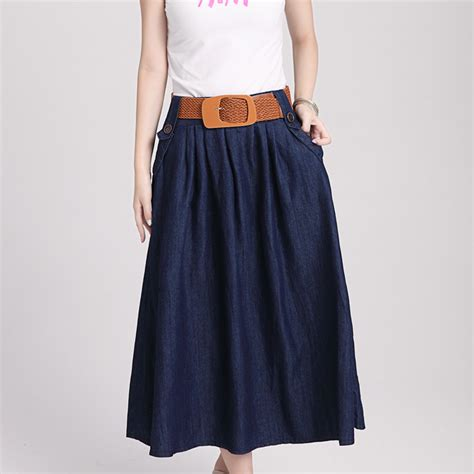 denim skirts summer autumn casual skirts