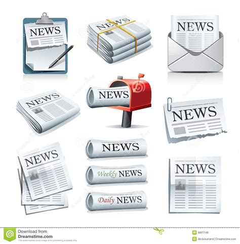 Royalty Free Newspaper Pictures Images And Stock Photos Istock News Icons Stock Vector Image Of Imprint Icon Notification 9891148