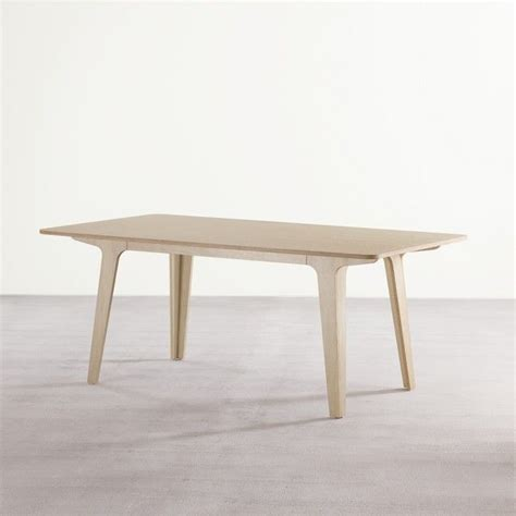Victor Dining Table Victor Dining Table In Ply White Dining Tables Tables Furniture Pinterest White