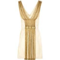 Alberta ferretti chain embellished dress thisnext