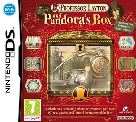 professor layton and pandora's box | nintendo ds | games