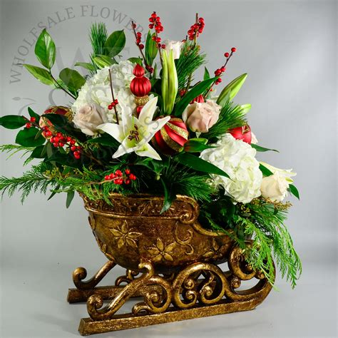 floral arrangement supplies christmas arrangement new4 wholesale flowers and supplies