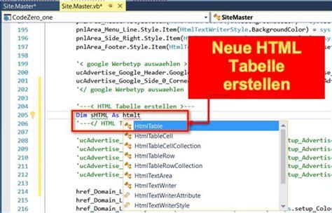tabelle erstellen asp net tabelle in runtime erstellen programmierer net