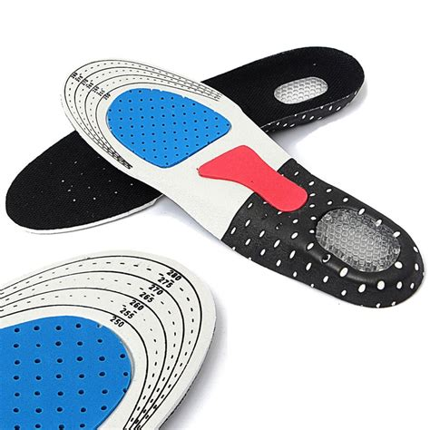 heel pads for running shoes footful gel orthotic sport shoes insoles pads for