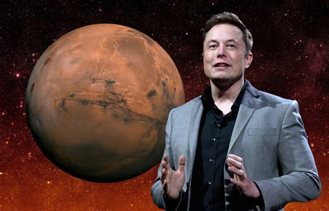 Elon Musk Mars   elon musk has revealed a plan to get humans on mars in six