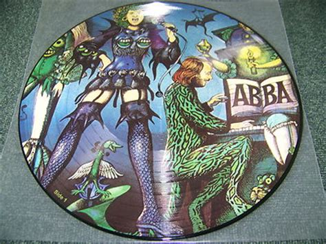Brb Records Popsike Abba Greatest Hits Swedish Picture Disc Vinyl Album Nr Mint Vinyl