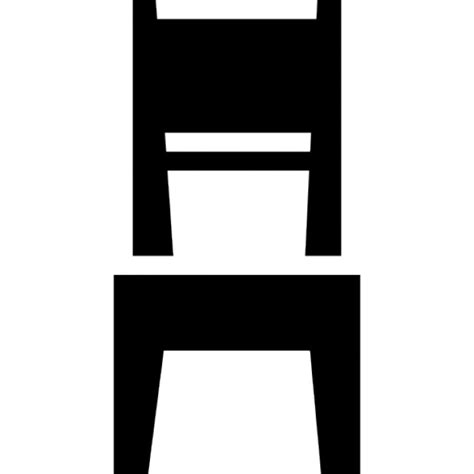 Log Table And Chairs Dining Room Chair Icons Free Download