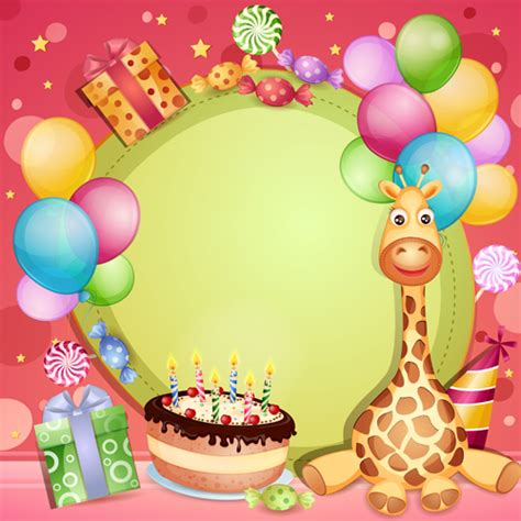 birthday blank layout design birthday card decoration design image inspiration of