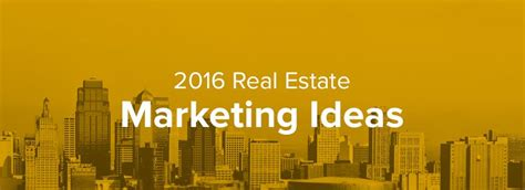 new year 2016 promotion ideas real estate marketing ideas 2016 the zinggs real