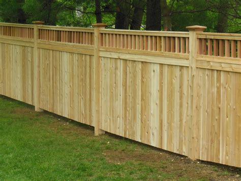 types of wooden fence panels best idea garden