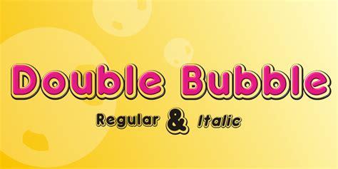 dafont bubblegum double bubble font dafont com