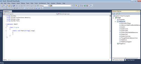 tutorial php webdriver tutorial selenium webdriver c visual studio