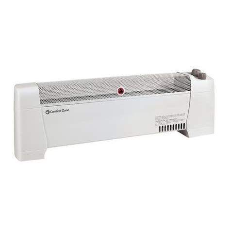 baseboard heater with fan heaters fans humidifiers comfort zone products