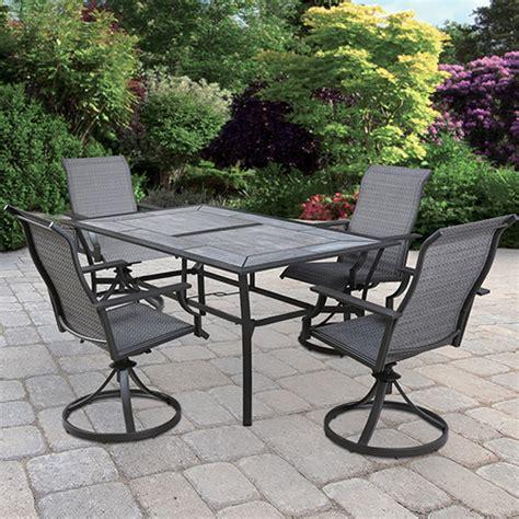 backyard creations patio furniture backyard creations at menards 174