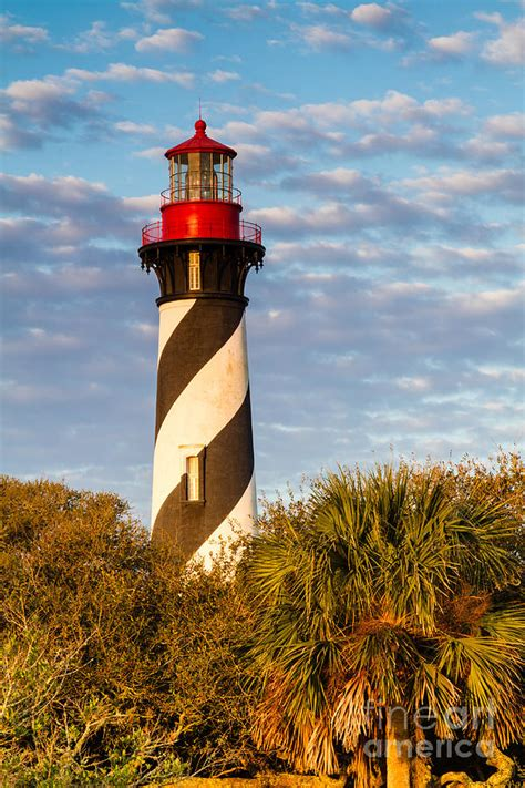 St Augustine Light House by St Augustine Lighthouse St Augustine Florida Photograph