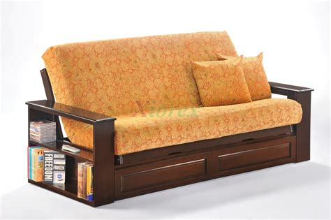day and night futon princeton futon night and day princeton futon bookcase arm